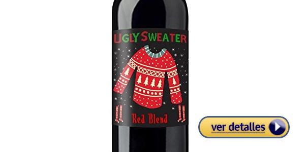 Ideas de regalos de navidad baratos vino
