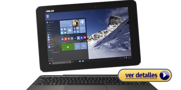 Mejor laptop asus 2 en 1 barata transformer book t100ha c4 gr