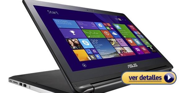 Mejores laptops 2 en 1 asus flip 15.6
