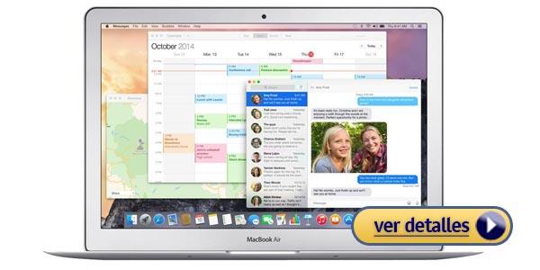 Mejores portatiles apple macbook air 13 pulgadas mjve2ll a