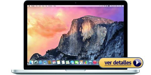 Mejores portatiles apple macbook pro mf839ll a 13 pulgadas con pantalla retina