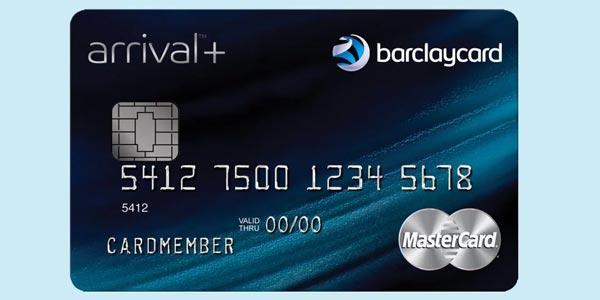 Mejores tarjetas de crédito para viajar barclaycard arrival plus
