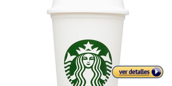 Regalos de navidad baratos taza de cafe reusable de starbucks coffee