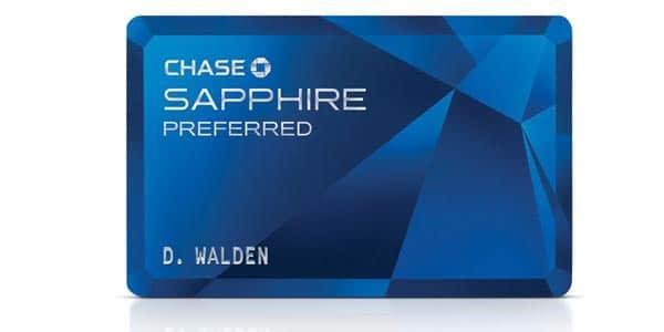 Tarjeta de credito para viajar chase sapphire preferred