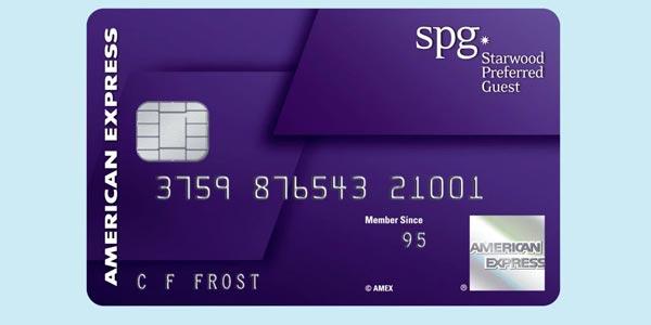 Tarjeta de crédito para viajes american express starwood preferred guest