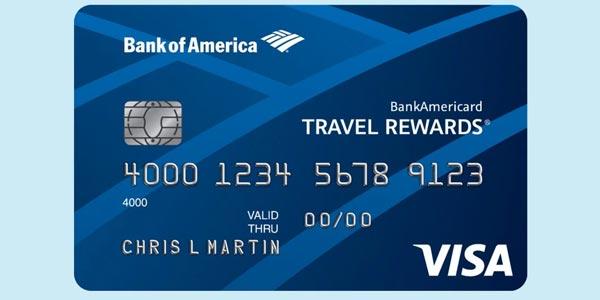 Tarjeta de crédito para viajes: BankAmericard Travel Rewards