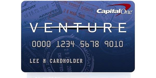 Tarjeta de crédito para viajes con recompensas: Capital One Venture Rewards