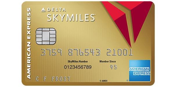 Tarjetas de crédito Delta SkyMiles gold american express