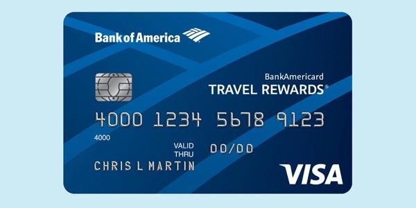 Tarjetas de crédito sin comisiones en el extranjero bankamericard travel rewards
