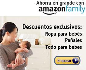 Amazon family ofertas bebés pañales ropa