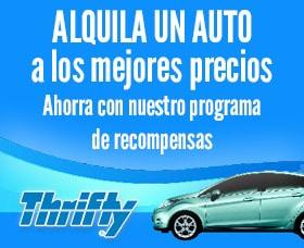 Compañías baratas para rentar un auto: Thrifty Car Rental