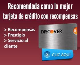 Discover it tarjeta de credito recompensas chase freedom