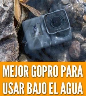 comprar una cámara resistente bajo del agua