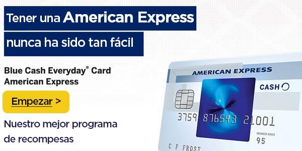 Mejor tarjeta de credito american express