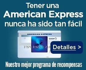 Mejor tarjeta de crédito para viajar american express