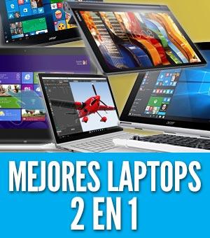 Mejores laptops 2 en 1 portatiles