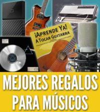 Regalos para musicos amantes de la musica cantantes guitarristas