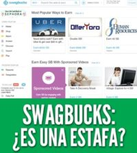 Swagbucks es una estafa