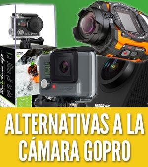 Alternativas a la cámara GoPro