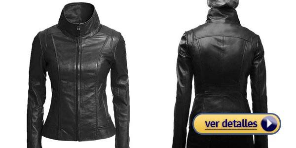 Fotos chaquetas de cuero para mujer