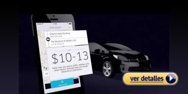 Como usar uber tarifa de uber
