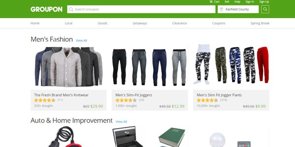 Ofertas de groupon goods o productos groupon