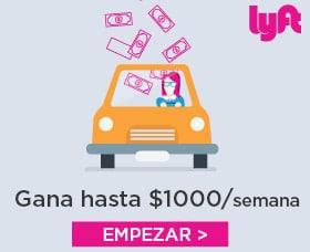 Trabajar con lyft o con uber mejor ganar dinero extra
