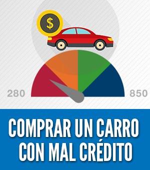Comprar un carro con mal credito