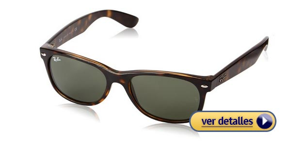 Ideas de regalos de San Valentín para hombres gafas de sol ray ban wayfarer