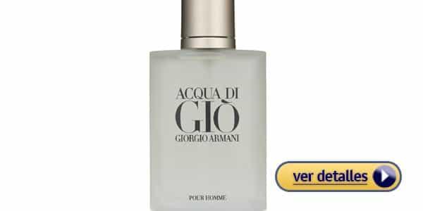 Perfume para hombre para regalar en san valentin acqua di gio de giorgio armani