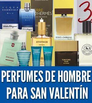 Perfumes de hombre para regalar en San Valentín