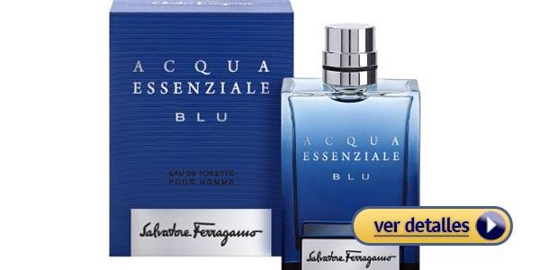 Perfumes de hombre para regalar en san valentin salvatore ferragamo acqua essenziale