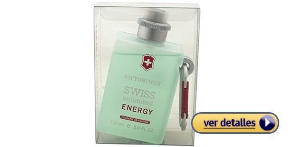 Perfumes de hombre para regalar en san valentin victorinox swiss unlimited energy