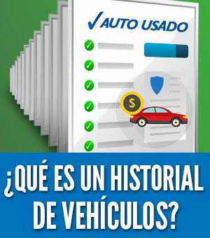¿Qué es un historial de vehículos?