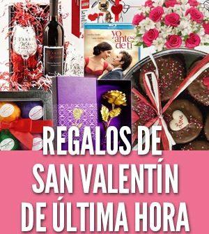 Regalos del Día de San Valentín de última hora