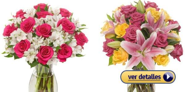 Regalos del Día de San Valentín de última hora: Ramo de flores frescas con envío gratis