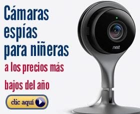 cámaras espías para niñeras