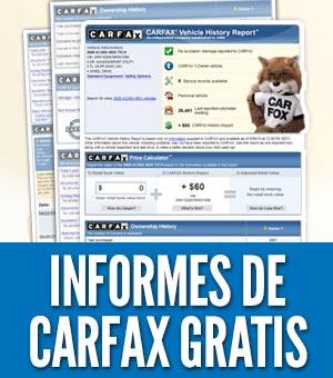 Carfax gratis informes reportes historial