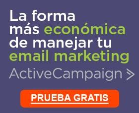 Empezar el email marketing active campaign