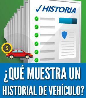 Historial de vehículo barato informacion