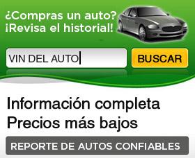Informe de auto reporte de auto antes de comprarlo historial