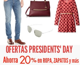 ofertas de presidents' day