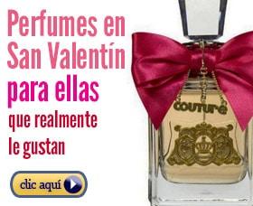 Perfumes de mujer para regalar en san valentin dia de los enamorados