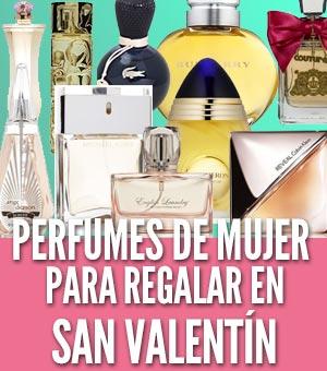 Perfumes de mujer para regalar en san valentin