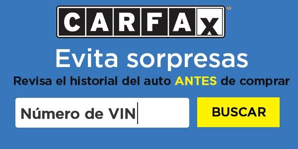 Qué es carfax reporte historial de vehiculo