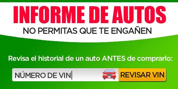 Revisar historial de auto reporte informe carro