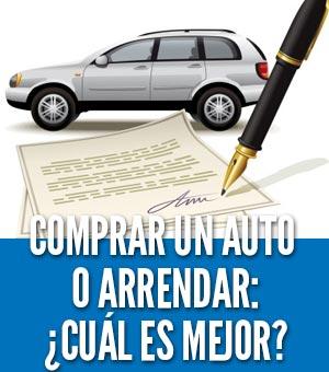 Comprar un auto o arrendar lease cual es mejor