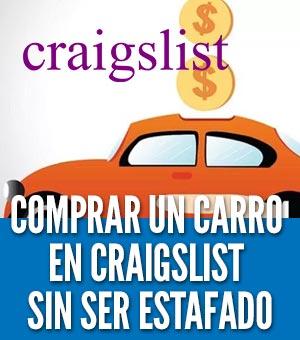 Comprar un carro en craigslist estafa