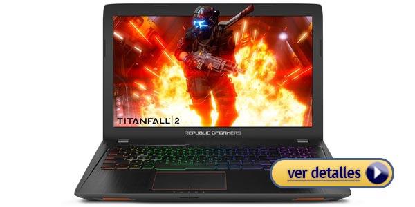 Mejores laptops de juegos para regalar asus rog strix