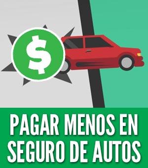 Cómo pagar menos en seguro de auto